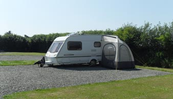 Gravelled All Weather Camping Pitches